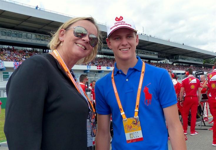 F1 | GP topic:マスコミも大注目、シューマッハの長男ミックがドイツGPに登場