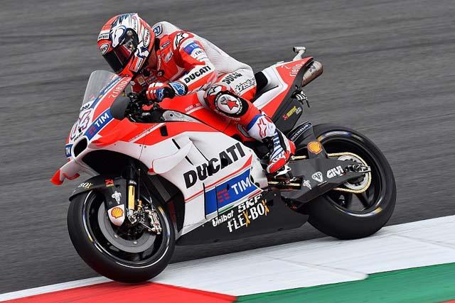 MotoGP | MotoGP第10戦オーストリアGP初日:ドゥカティがワン・ツー。ドビジオーゾが総合トップ