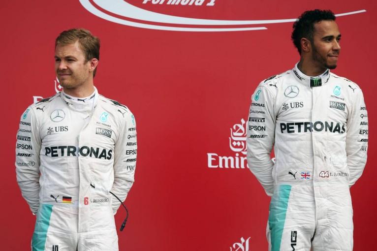 F1 | ハミルトンとロズベルグの関係は「メリットがデメリットを上回る」とメルセデス