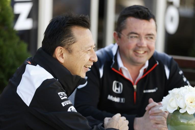 F1 | マクラーレン、ホンダ長谷川総責任者を称賛。「一体感が高まり開発がスムーズに」