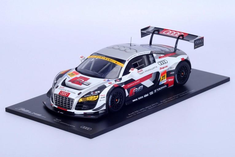 スーパーGT | Audi Team Hitotsuyamaからスパーク特注1/18美麗ミニカー発売