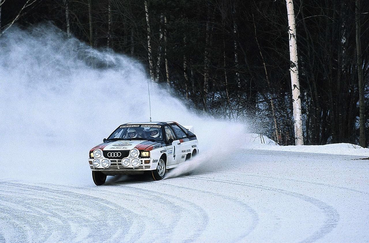Audi クワトロ WRC