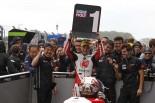 Moto2クラス初優勝を飾った中上貴晶