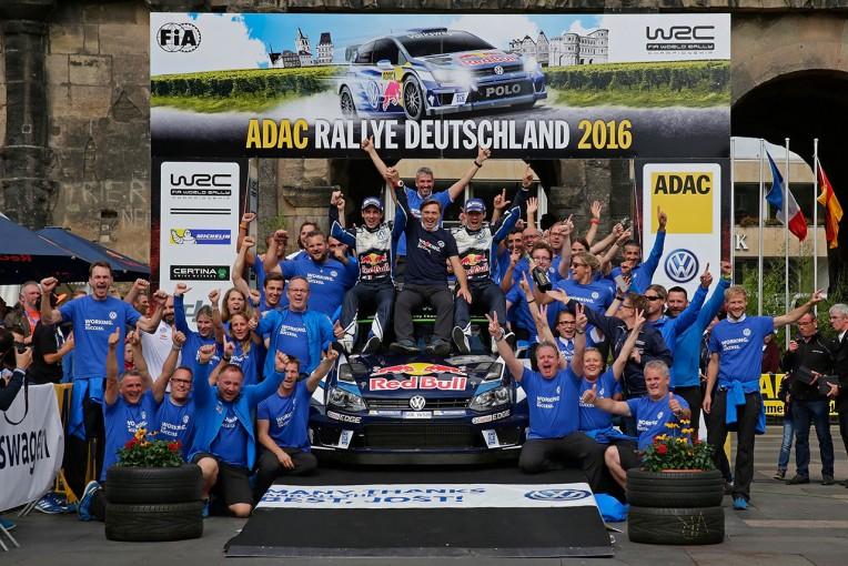 ラリー/WRC   WRCドイツ:ヒュンダイ勢に迫られるもオジェが7戦ぶりに復活の勝利