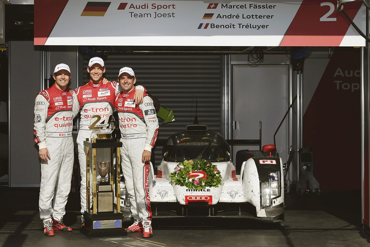 2014 Audi R18 e-tron Le Mans 24時間優勝