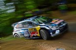 WRC第9戦ドイツ セバスチャン・オジエ(フォルクスワーゲン・ポロR WRC)