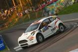 WRC第8戦フィンランドに参戦した勝田貴元(フォード・フィエスタR5)