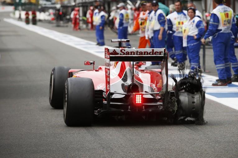 F1 | ピレリF1、衝撃に強い新タイヤを開発中。ベルギーで全チームがテスト