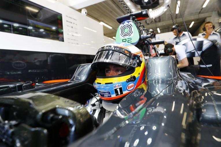 F1   アロンソ「新PUをたった3周で交換するなんて……」:マクラーレン・ホンダ ベルギー金曜
