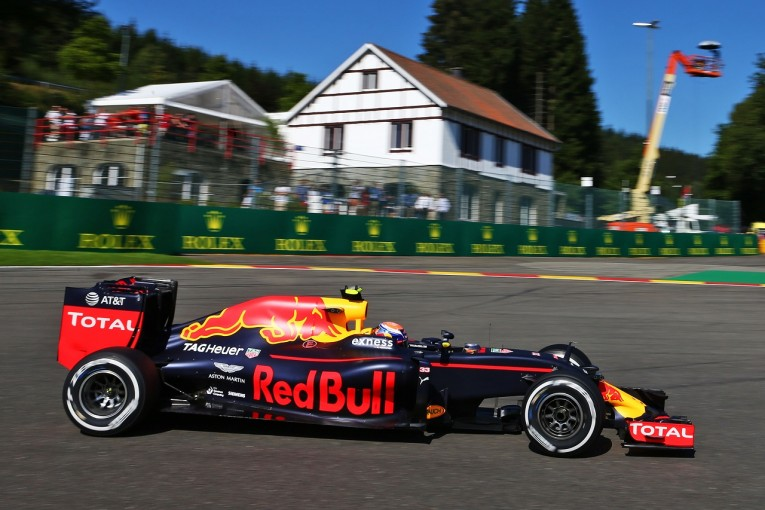 F1 | 首位フェルスタッペン「もっと速く走れる。メルセデスとの勝負が楽しみ」:レッドブル ベルギー金曜