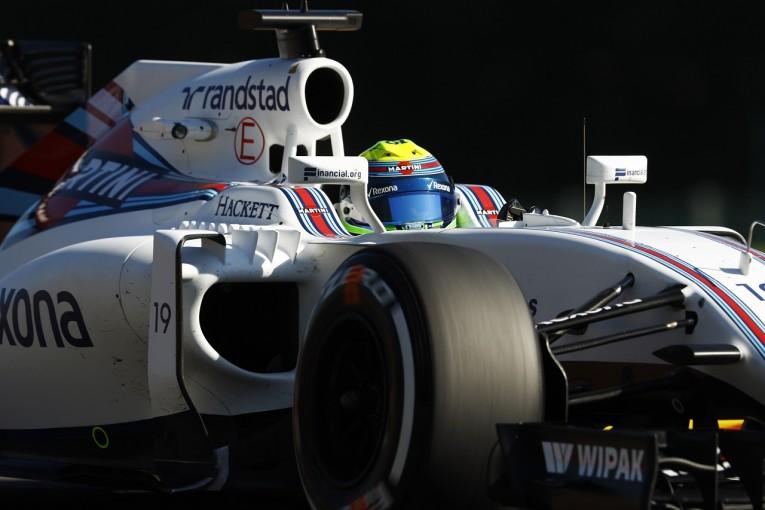 F1   マッサ「こんな高い内圧は初めて。ほとんどジョーク」:ウイリアムズ ベルギー金曜