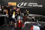 F1   GP topic:バーストを警戒するピレリ、ドライバーからは内圧アップに不満の声