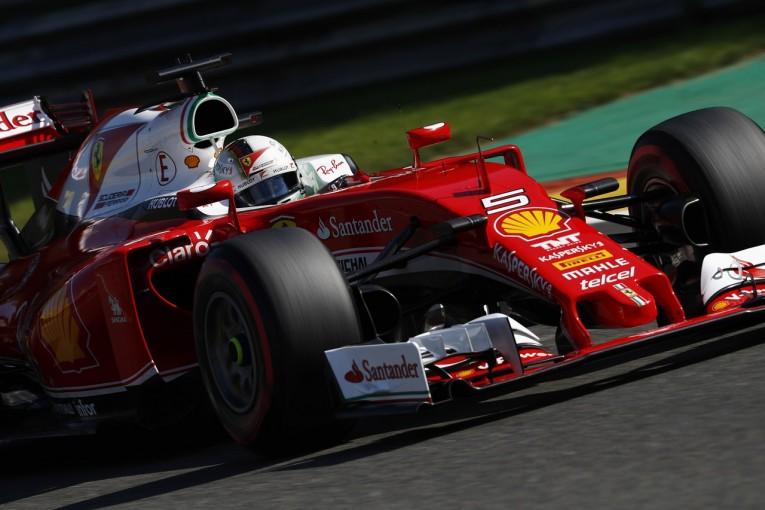 F1   フェラーリがパワーユニットをアップグレード。地元イタリアで巻き返し図る