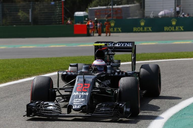 F1 | バトン「ウェーレインにヒットされた。入賞のチャンス逃して悔しい」:マクラーレン・ホンダ ベルギー日曜