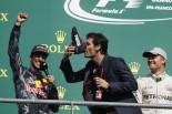 F1 | 2位リカルド「事故の巻き添えで損傷を負ったが赤旗に助けられた」:レッドブル ベルギー日曜