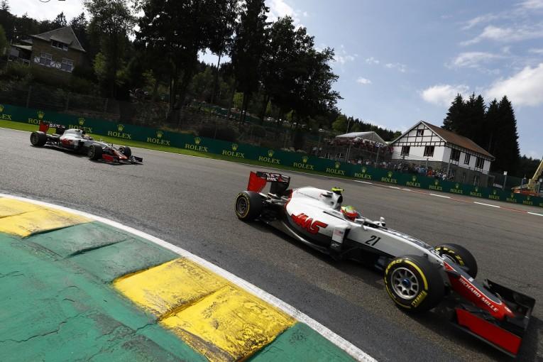 F1   ハースF1「ポイント獲得のチャンスだったのだが……」: ベルギー日曜