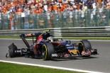 F1 | サインツ「人生最高のスタートを決めたのにタイヤが破裂」:トロロッソ ベルギー日曜