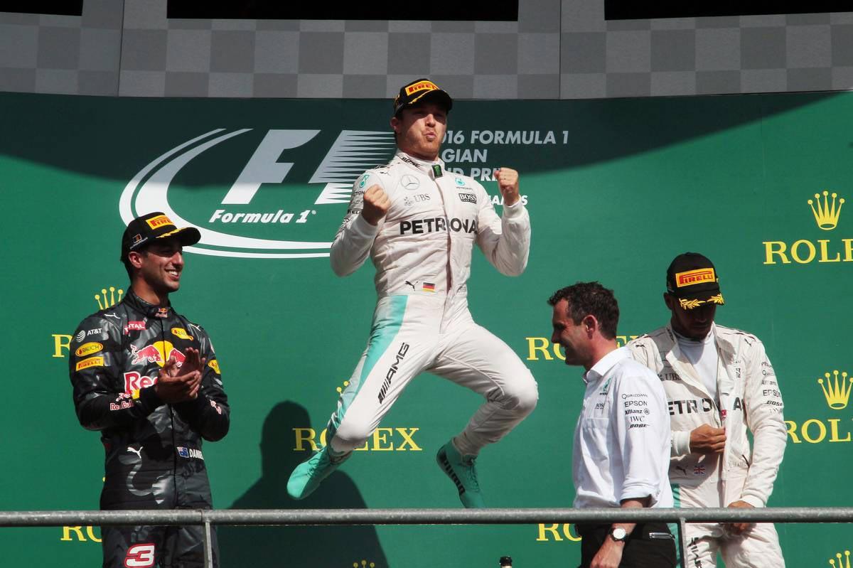 2016年F1第13戦ベルギーGP