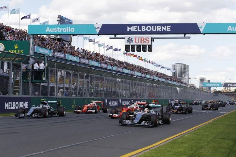 2016年オーストラリアGPスタート