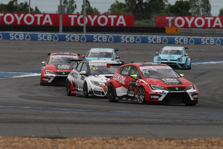 海外レース他 | TCRインター:アジア・フライアウェイのタイ戦はオリオラ&ナッシュが席巻
