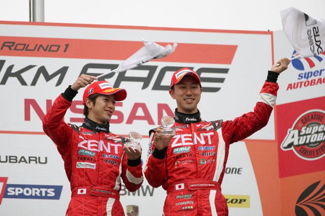 スーパーGT | ZENT RC F、一時8番手まで後退も3位表彰台獲得