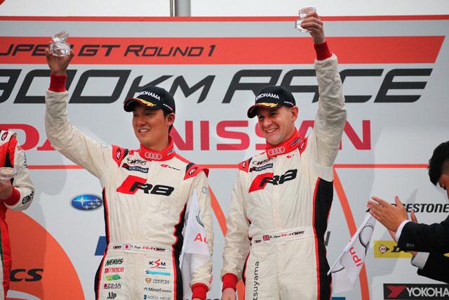 スーパーGT | Audi HitotsuyamaがSGT開幕戦で3位表彰台
