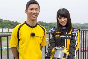 クルマ | 【動画】梅チャレ第2走2部:梅ちゃん、ついにレーシングスーツ姿に!