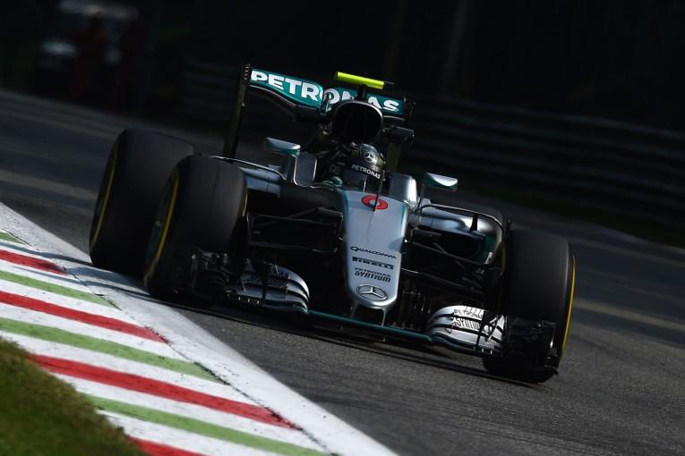 F1 | モンツァ最初のセッションはロズベルグ首位、地元決戦のフェラーリが続く