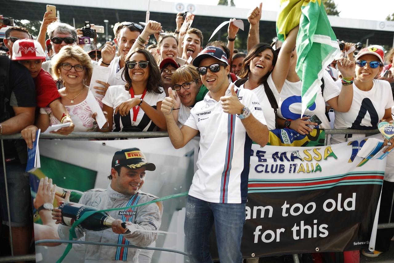 2016年第14戦イタリアGP フェリペ・マッサ(ウイリアムズ)