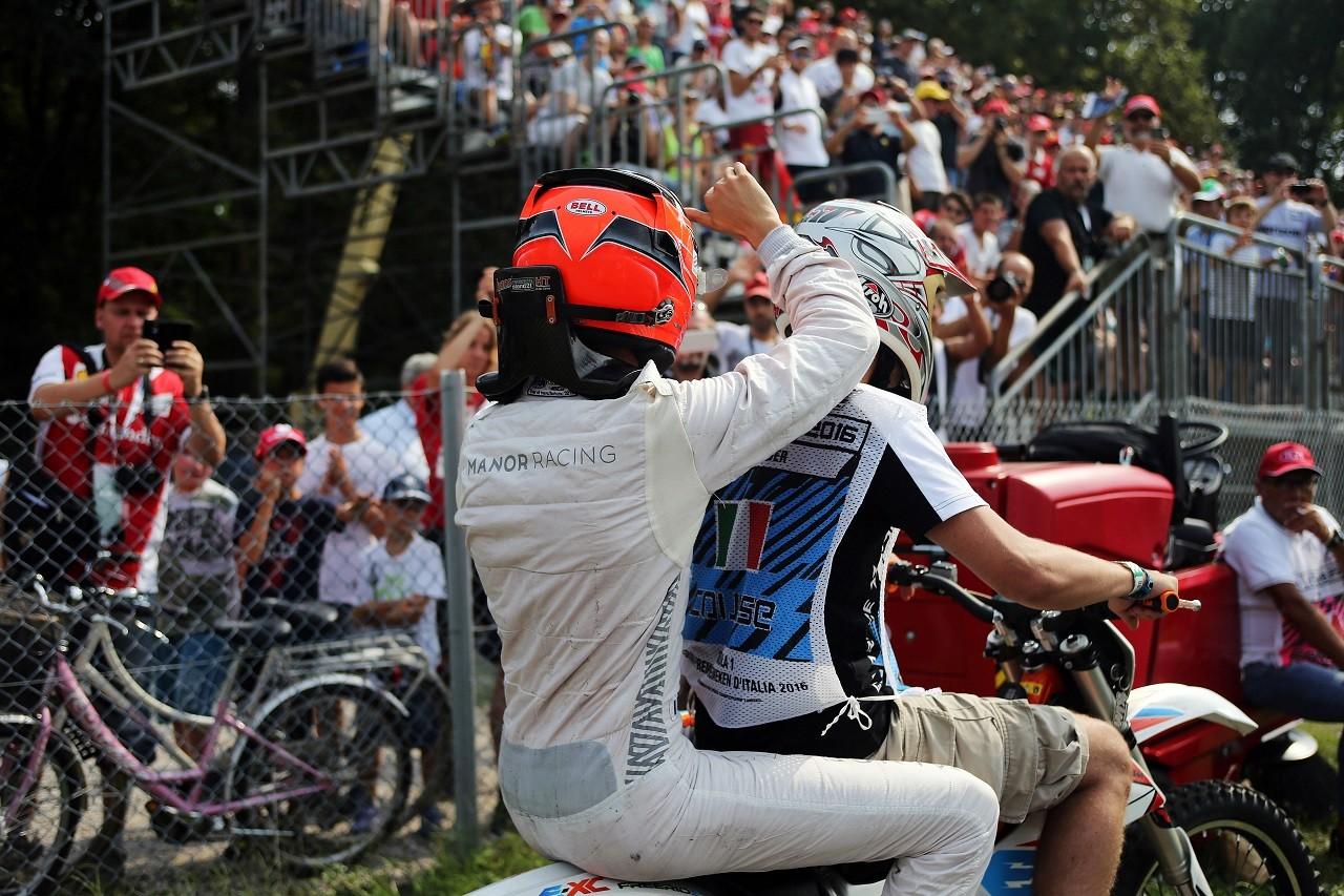 2016年第14戦イタリアGP エステバン・オコン(マノー)