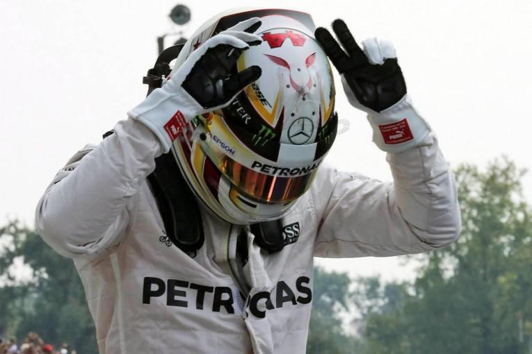 F1 | ハミルトン、2017年F1ヘルメットデザインを一新。ファンから公募