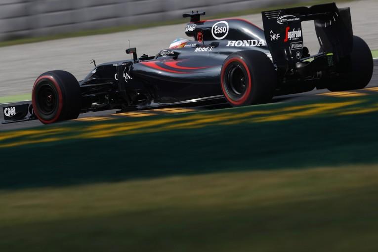 F1 | ホンダF1、トークン使ったアップデート投入を決断。アロンソがテスト、グリッド大量降格へ