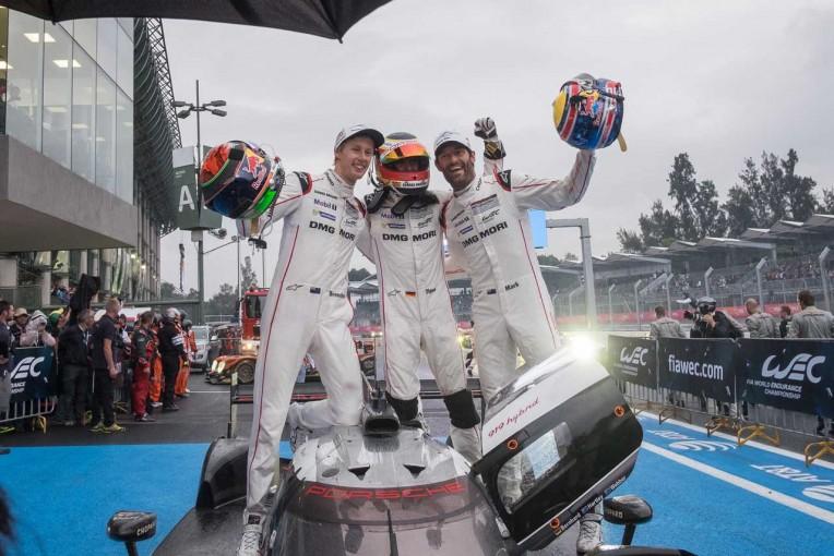 ル・マン/WEC   WEC第5戦メキシコ決勝:ポルシェ1号車が2連勝。トヨタは3位表彰台を獲得