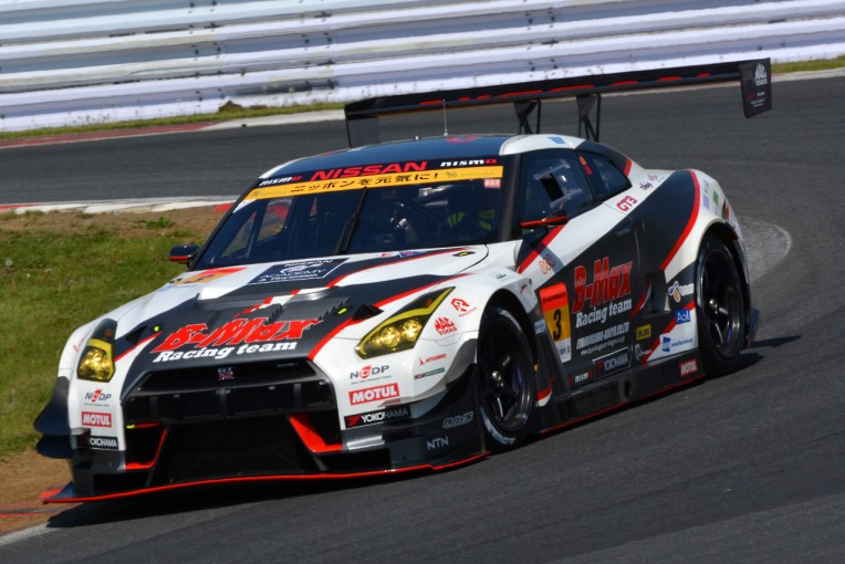 スーパーGT   SGT富士:GT300練習走行はB-MAXがトップ