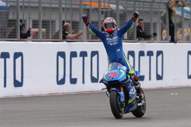 MotoGP第12戦イギリスGP マーベリック・ビニャーレス(チーム・スズキ・エクスター)