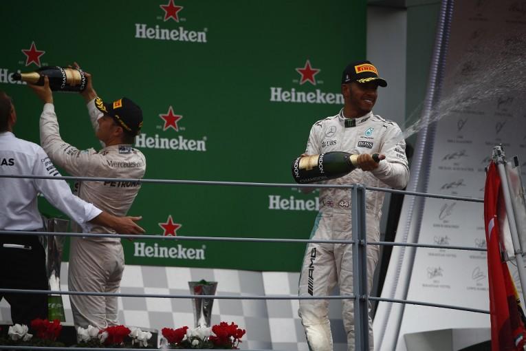 F1 | ハミルトン「スタート失敗は僕のミスではない」:メルセデス イタリア日曜