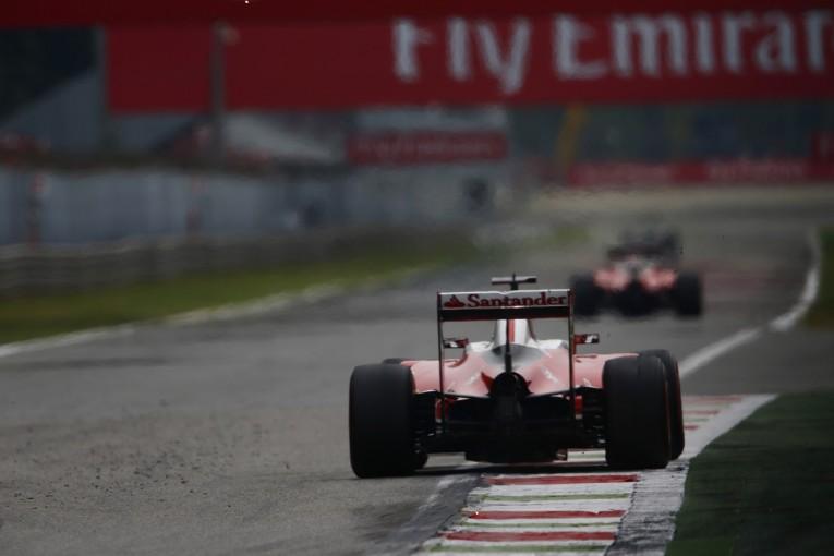 F1 | ライコネン「チームメイトとの戦いは難しい」:フェラーリ イタリア日曜