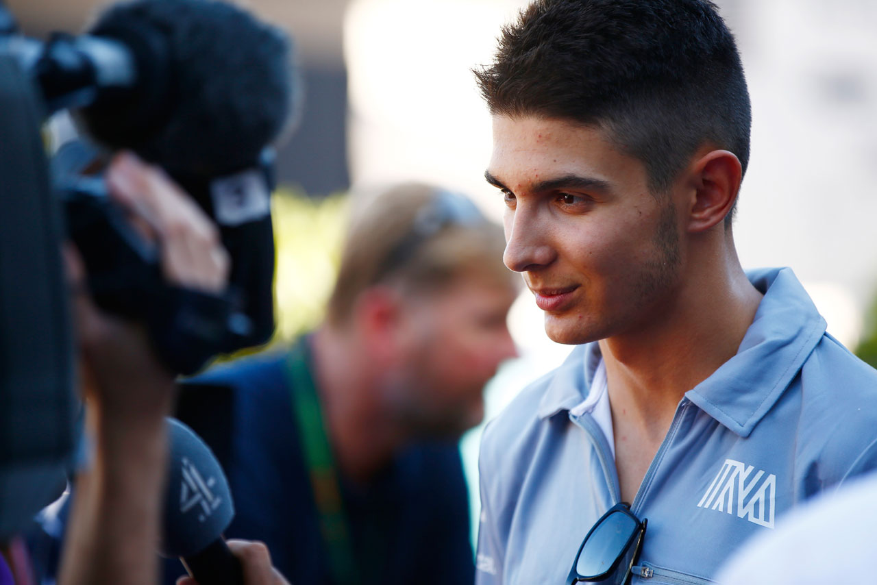 F1 | エステバン・オコン 2016年