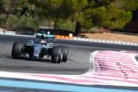 F1   メルセデス、ワイドな来季F1タイヤを初テスト。ライコネンも初登場