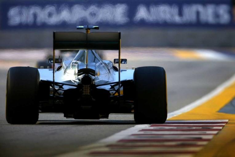 F1   メルセデス、鬼門シンガポールに「自信を持っては臨めない」