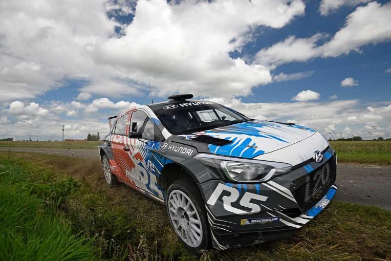 ラリー/WRC | ヒュンダイi20 R5、WRC第10戦で実戦デビュー。ヤリスWRCテストドライバーもドライブ