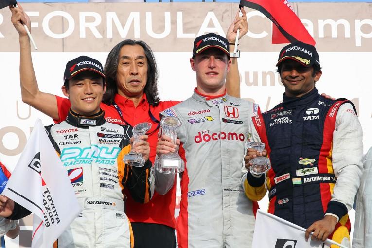 スーパーフォーミュラ | SF岡山:決勝レース1 トップ3コメント