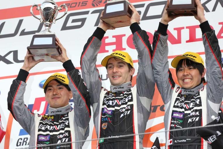 スーパーGT   SGT富士:GAINER GT-R優勝。終盤2位争いにドラマ