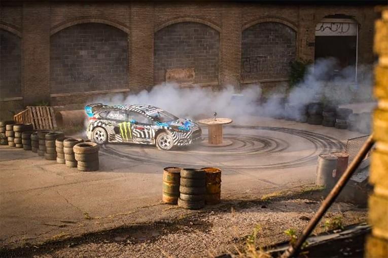 ラリー/WRC   『ケン・ブロック・ジムカーナ』最新作『9』公開! 今作は原点回帰