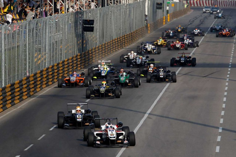 例年11月に行われているF3マカオグランプリがワールドカップとして開催される