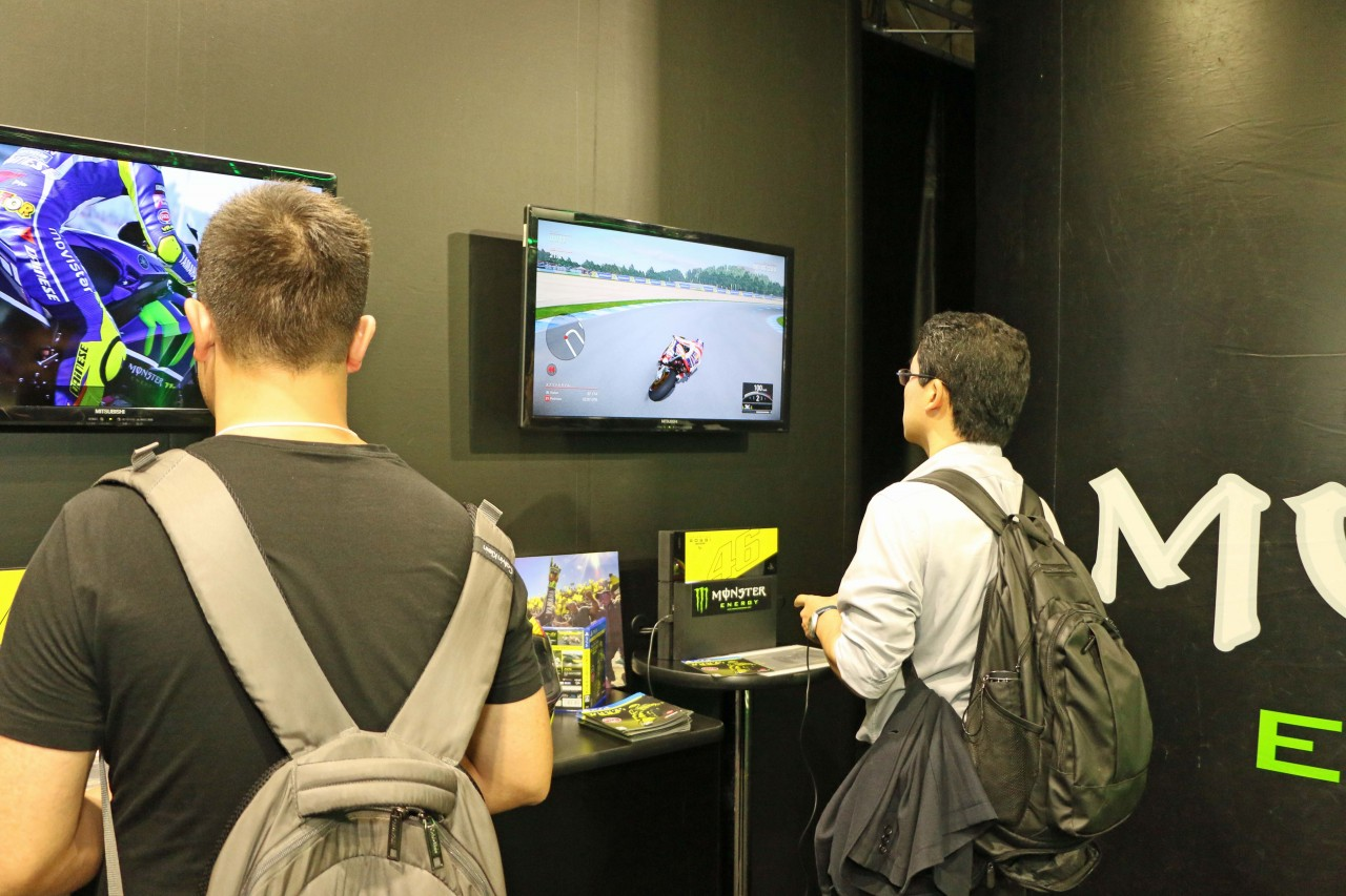 東京ゲームショウ2016で、最新のモータースポーツゲームをいち早く体験しよう!