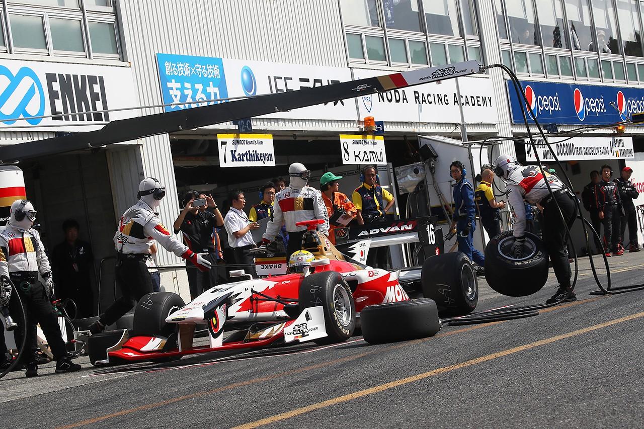 TEAM無限 スーパーフォーミュラ第5戦岡山 レースレポート