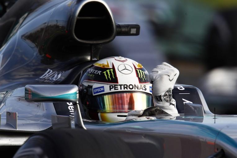 F1   ハミルトン完勝、ホンダは11位最下位完走