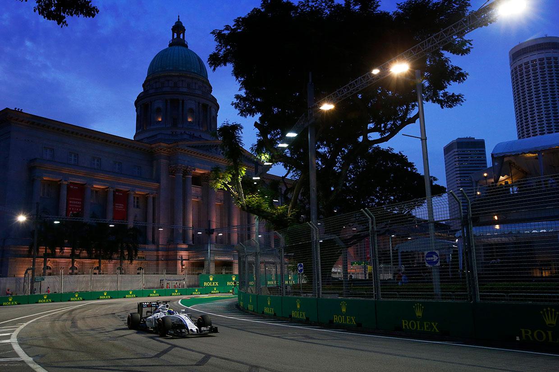 【タイム結果】F1第15戦シンガポールGP フリー走行1回目