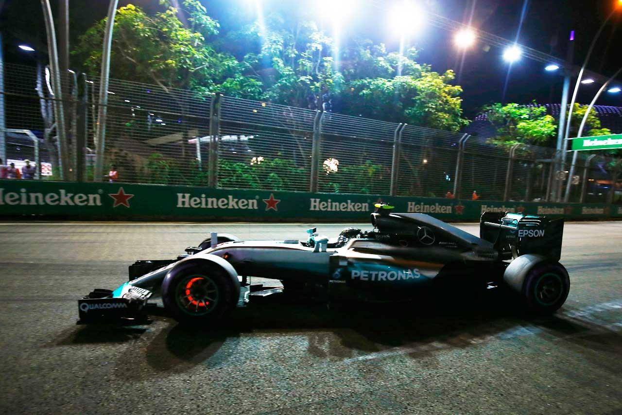2016年第15戦シンガポールGP  ニコ・ロズベルグ(メルセデス)